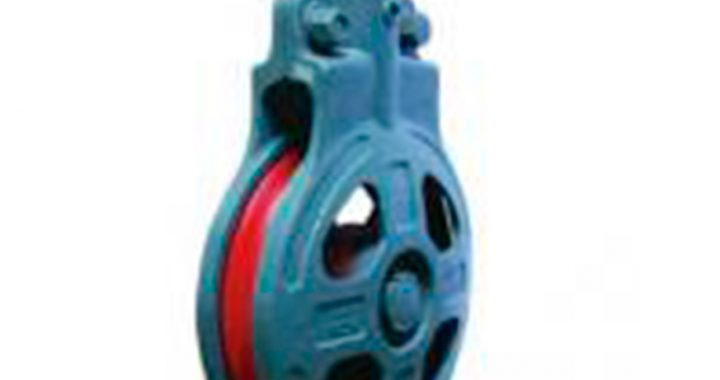 HC Services single wheel marine snatch block